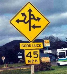 Confusing navigation should be avoided