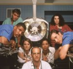 The cast of ER