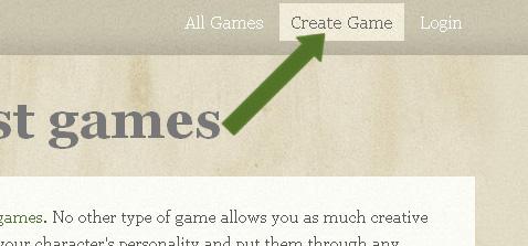 Click create game