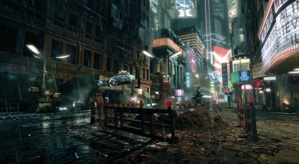 Blade Runner city