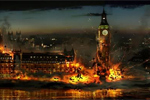 parliament exploding
