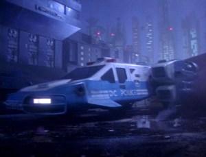 Space precinct police car