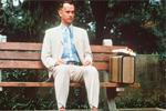 forrest gump sat on a bench