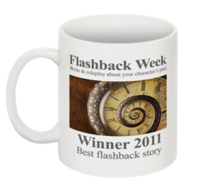 Flashback week winners mug