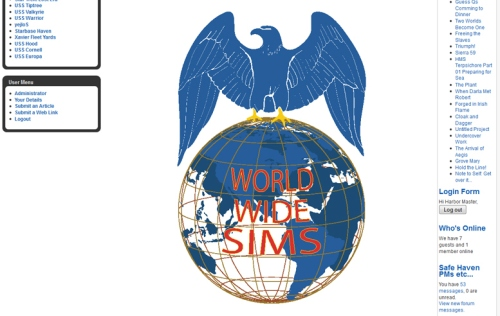 World Wide SIms logo