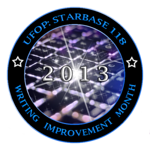 UFOP Starbase118 Writing Improvement Month 2013